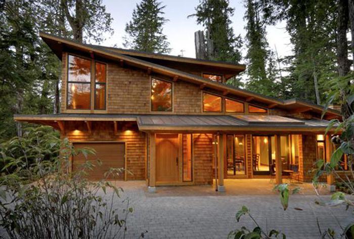 строительство дома из сухого профилированного бруса