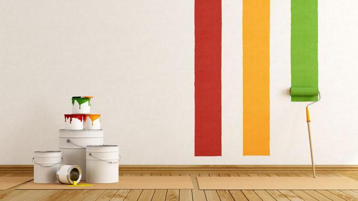 краска для стен латексная