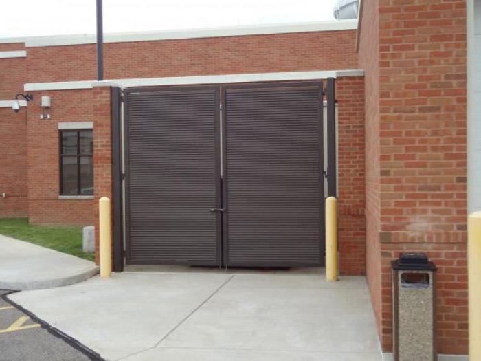 размеры ворот для гаража