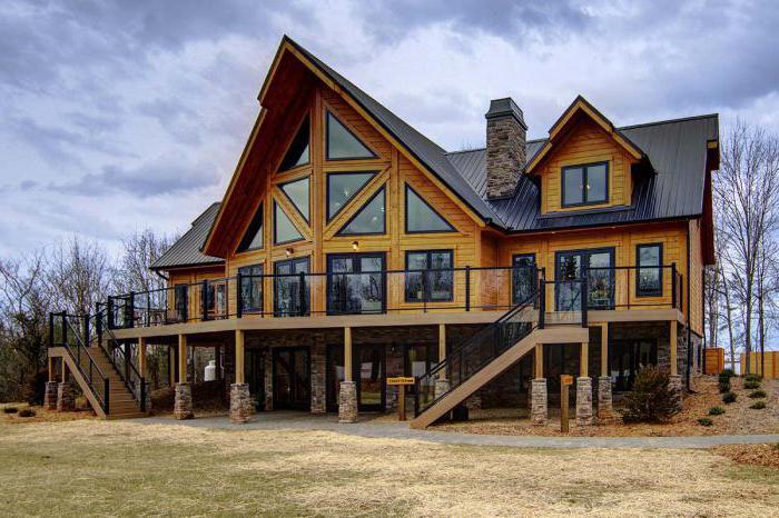 виды строительства домов