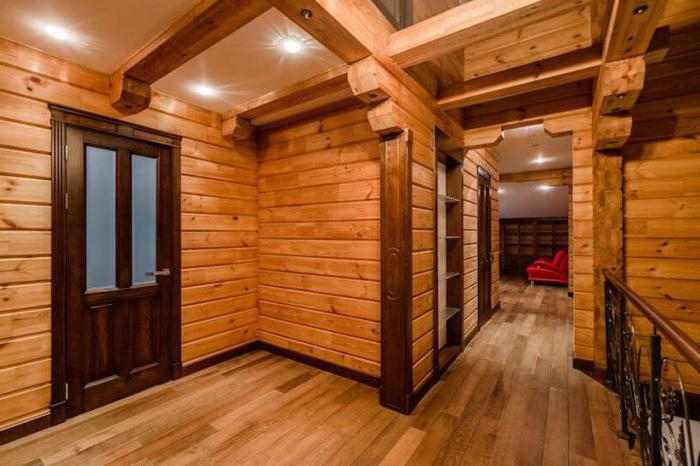 двери для деревянного загородного дома