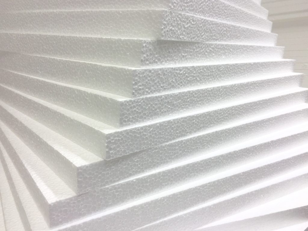 polyfoam for warming the loggia with your own hands
