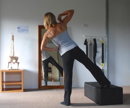 упражнения при сколиозе перед зеркалом