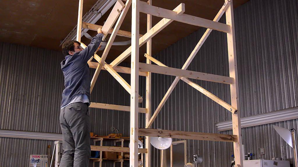 технология монтажа строительных лесов своими руками