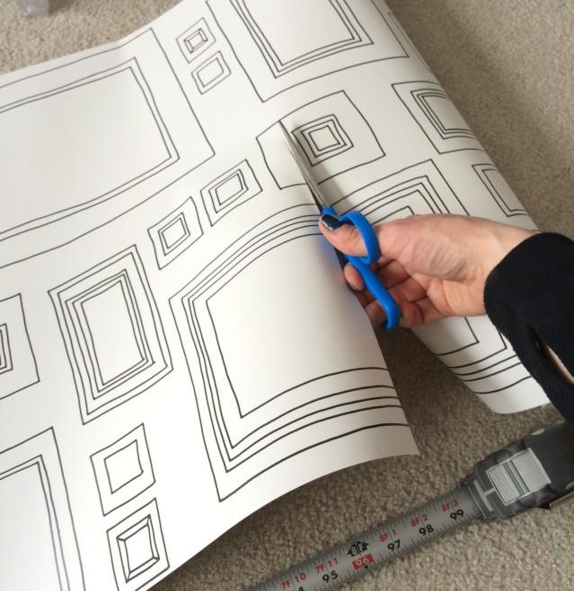 отпуске как клеить тонкие фотообои на бумажной основе трех сторон