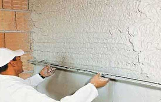 how to apply Teplon plaster