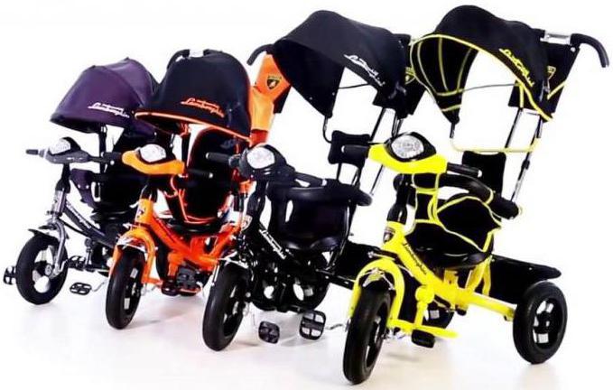велосипед ламборджини трехколесный отзывы галерея качественных красивых