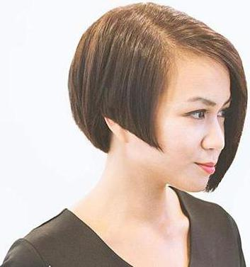 асимметричная стрижка короткие волосы технология