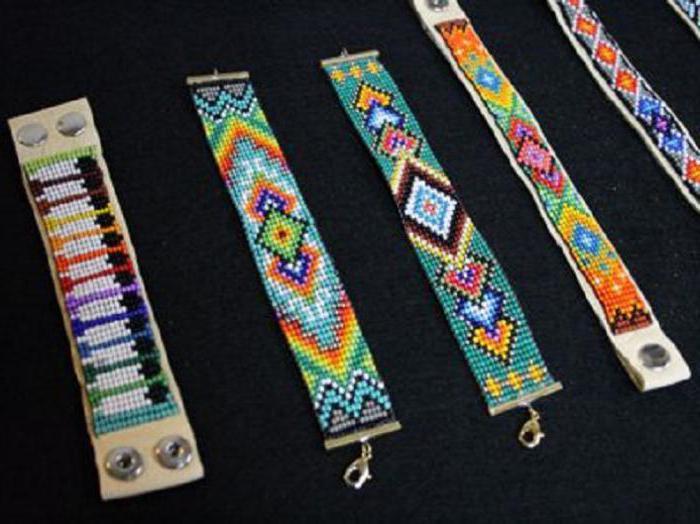 схемы прямого плетения с надписями