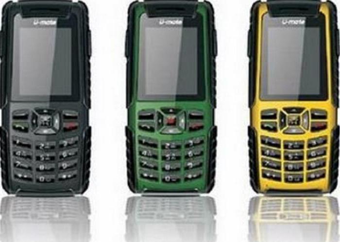 Противоударный мобильный телефон: описание и характеристики