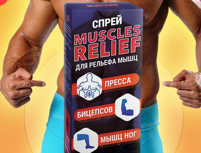 Спрей для рельефа мышц Muscles Relief: отзывы, особенности и инструкция