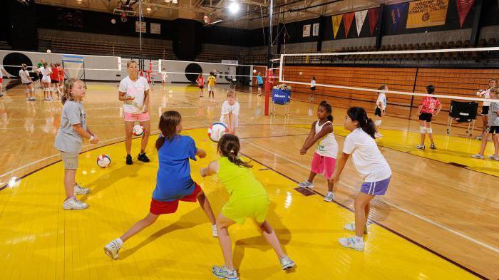 детская секция волейбола в москве