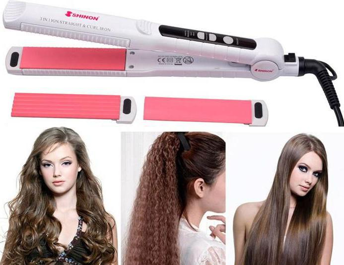 Электроплойка для завивки волос