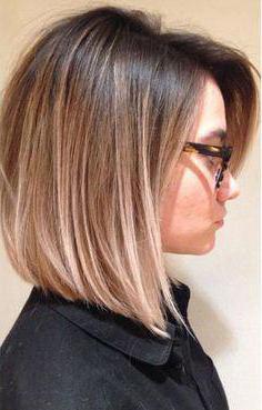 окрашивание волос переход от темного к светлому