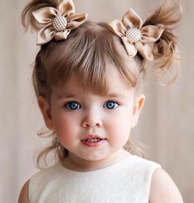 прически для самых маленьких девочек