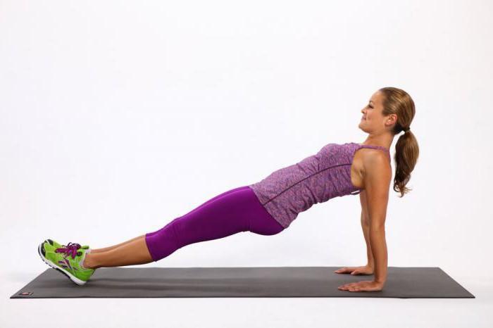 упражнение обратная планка
