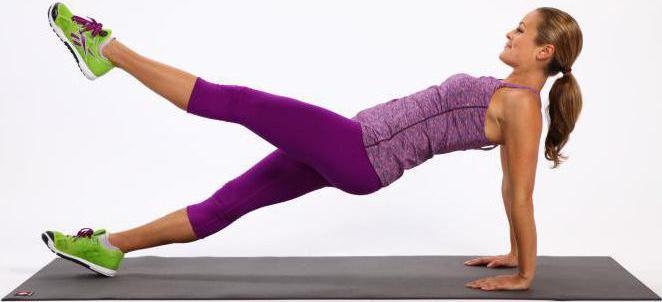 упражнение обратная планка как правильно делать