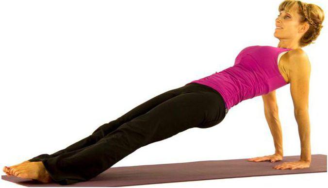 обратная планка упражнение польза и вред