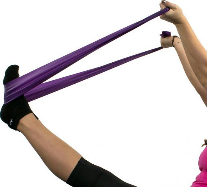 фитнес резинка для занятий