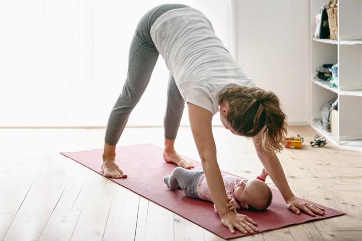 Комплекс похудение после родов