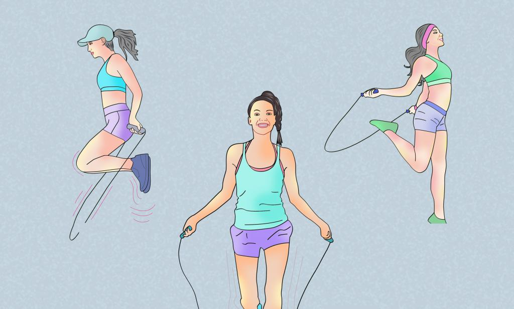 Прыжки на скакалке для похудения :: FupiDaycom