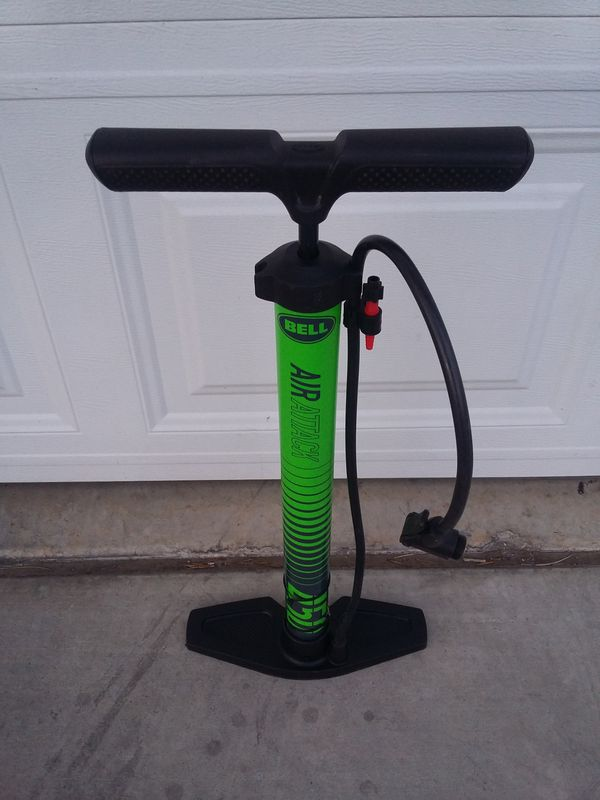bicycle pump with hose
