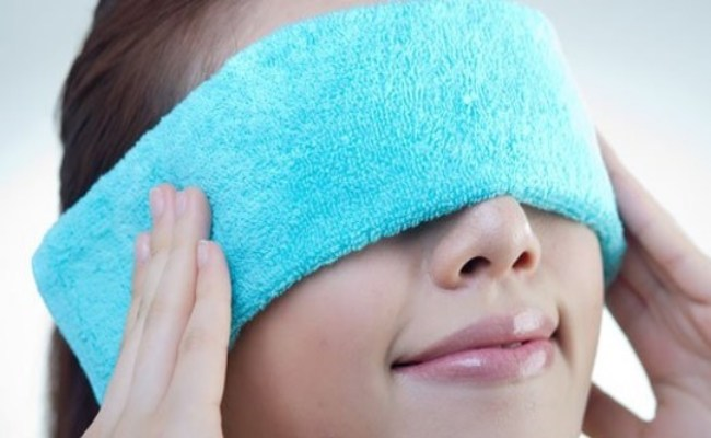 how to quickly get rid of edema under the eyes in the morning