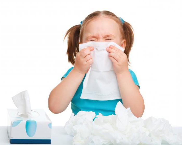 Детские капли от аллергии