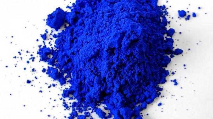 Синий цвет любимый психология