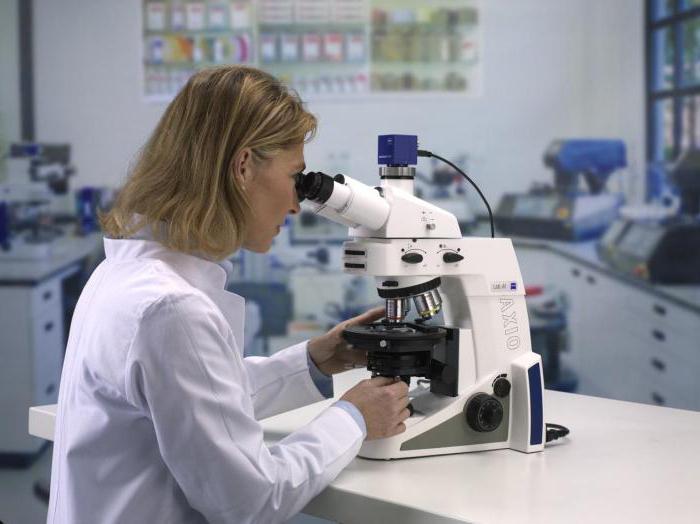 микроскопия в биологии