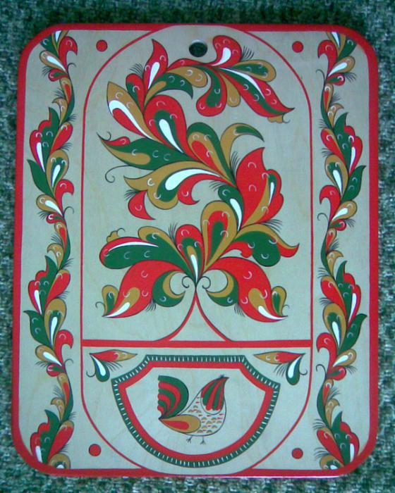 ракульская роспись по дереву