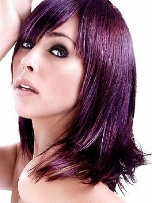 Фиолетовые волосы найдите свой