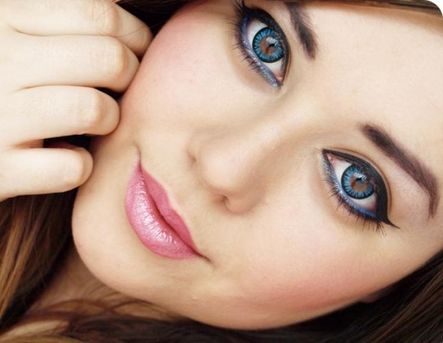 Как сделать глаза более голубыми глазами 894