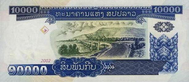 какая валюта в лаосе