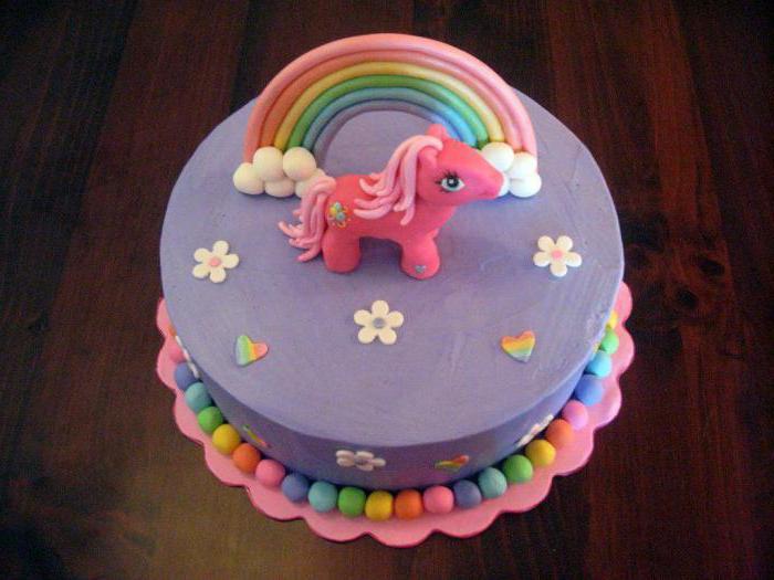 детские торты пони
