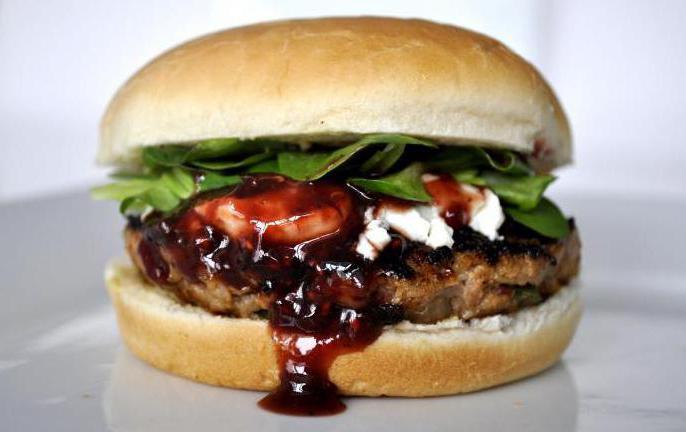 соус для гамбургера