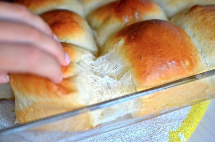 Булочки на кефире в духовке без дрожжей рецепт с пошагово в