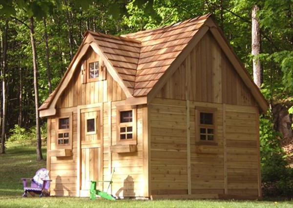 Садовые домики недорого