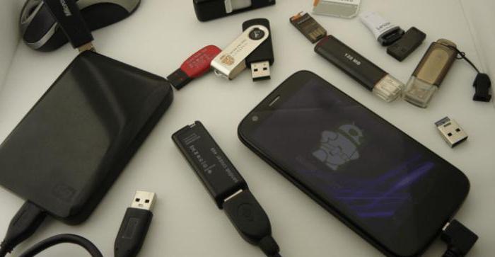 как подключить флешку к смартфону андроид
