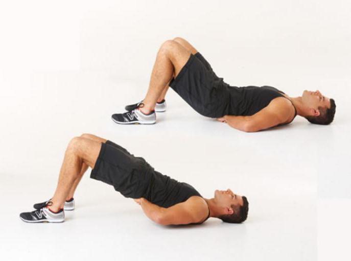Как похудеть попе и ногам мужчине