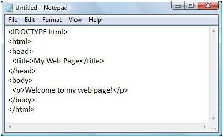 Как вставить картинку в сайт через блокнот