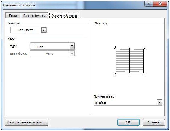 Как сделать видимыми границы таблицы