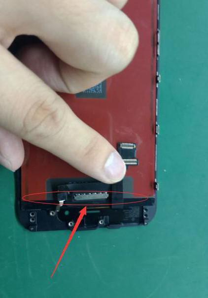 на экране iphone появились полосы