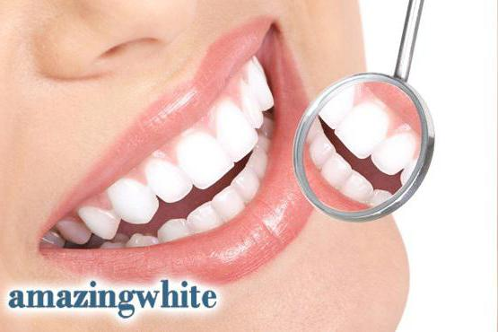 система отбеливания Amazing White у стоматолога отзывы
