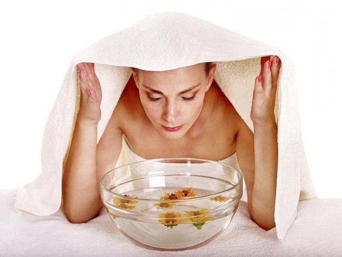 паровые ванны для лица в домашних условиях