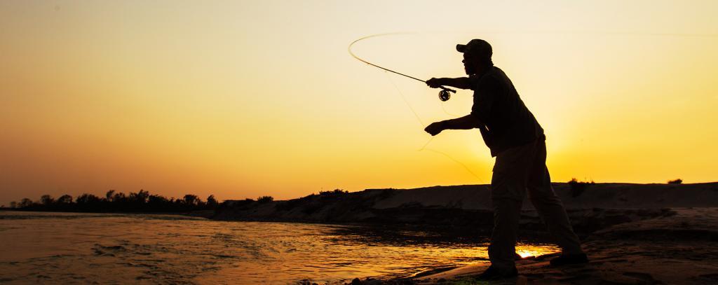 Рыбалка во время прилива