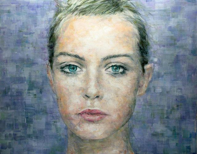 How to draw portrait oil painting on canvas?