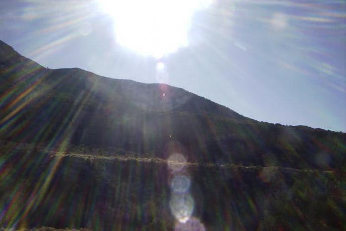 солнечные блики, рассветы