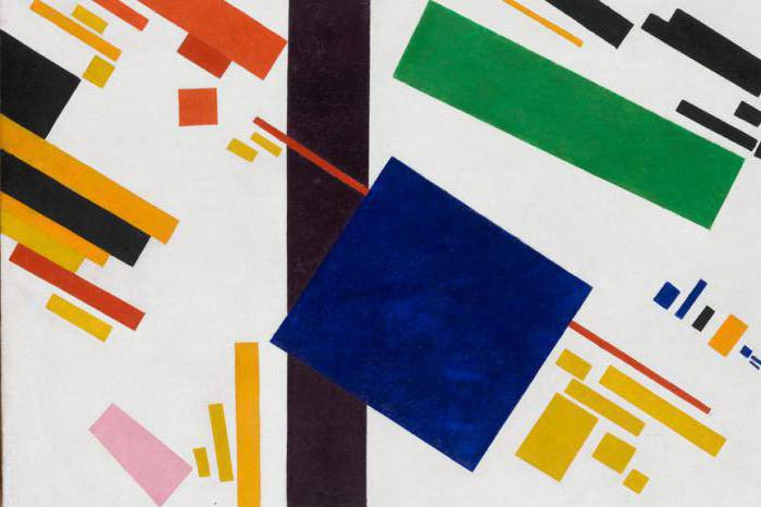 Malevich's works over the years: the description, photo