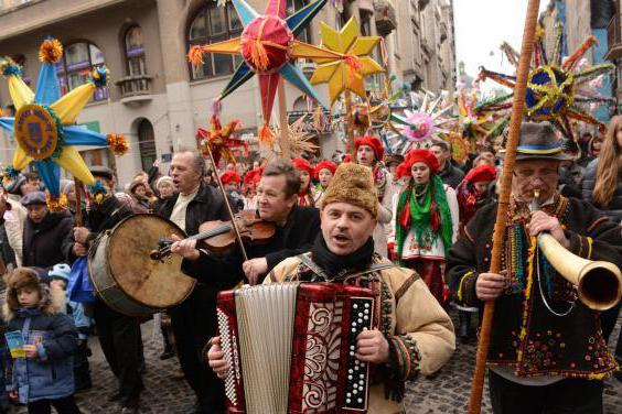 традиции украинского народа для детей